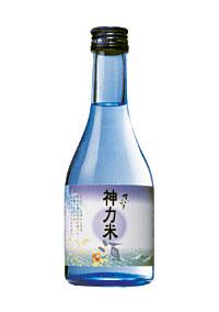 日本酒 純米酒 神力米酒