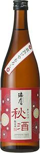 純米ひやおろし秋酒(あきさけ)720ml