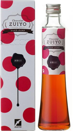 チョコレートリキュール Chocolat ZUIYO(ショコラ・ズイヨウ) 赤酒 ...